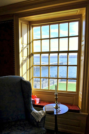 View of Salem Harbor from the Parlor Chamber
