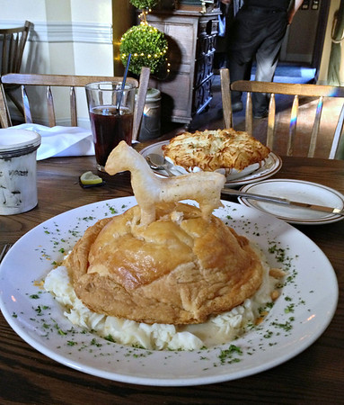 Chicken Pot Pie at theWhite Horse Country Pub & Restaurant, New Preston, CT