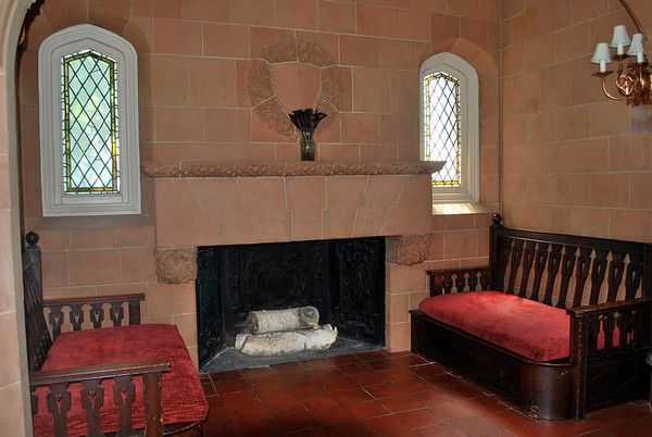 Inglenook in the Board Room at the Cranwell Resort, Spa, and Golf Club