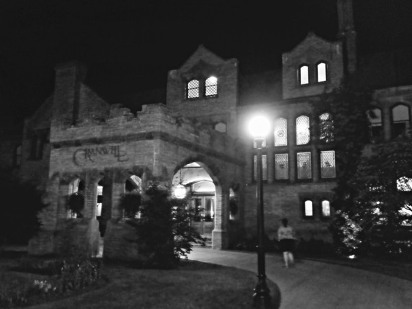 The Mansion at Night at the Cranwell Resort, Spa, and Golf Club