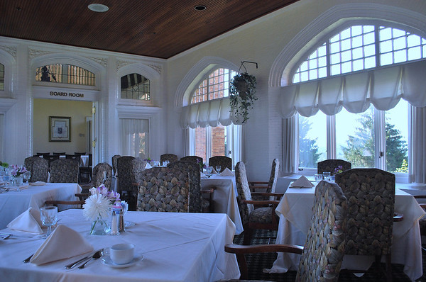 Former Loggia of Wyndhurst, Now the Sun Room Dining Area at the Cranwell Resort, Spa, and Golf Club
