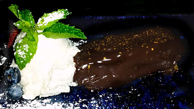 Decadent Dessert from the Music Room Lounge at the Cranwell Resort, Spa, and Golf Club