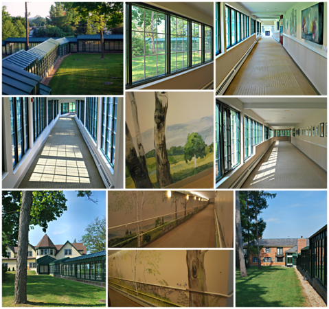 Collage of the Spa Links at the Cranwell Resort, Spa, and Golf Club