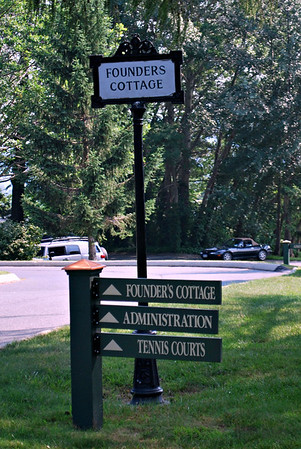 Signs at the Cranwell Resort, Spa, and Golf Club