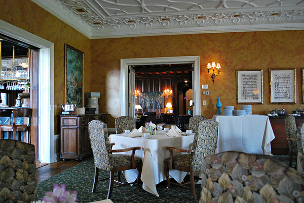 Music Room Dining Room of the Mansion at the Cranwell Resort, Spa, and Golf Club