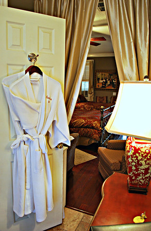 Robes in Room #19 at the Casablanca Inn