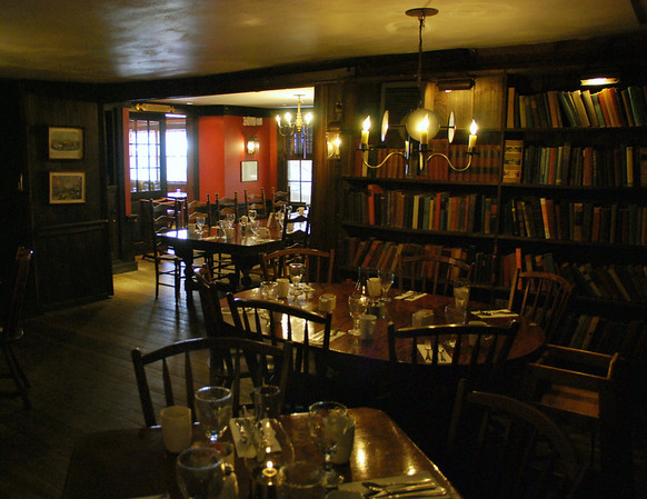 Griswold Inn Dining Room in Essex, CT