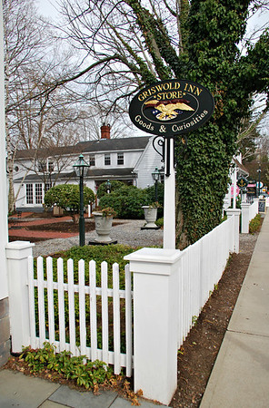 Sign for the Griswold Inn Store