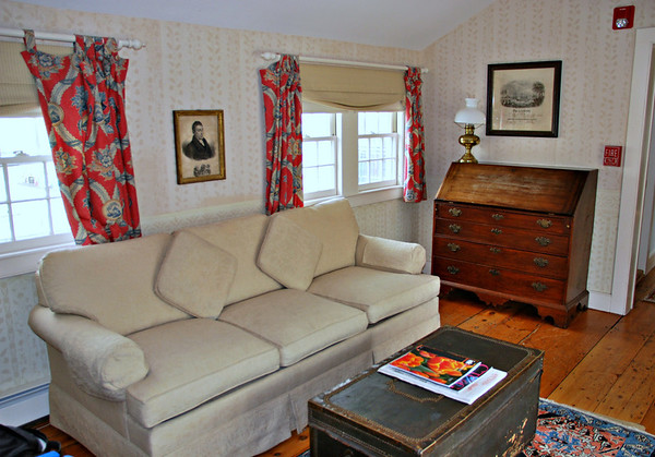 Living Room of Suite #38