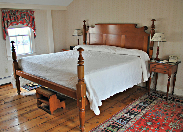 King-size bed in Bedroom of Suite #38