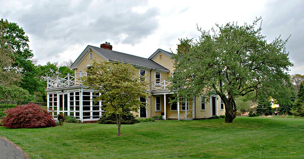 Farmhouse at Long Hill farm