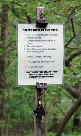 Sweet Smell of Compost Sign