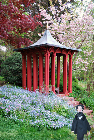 Nathaniel and the Garden Pagoda