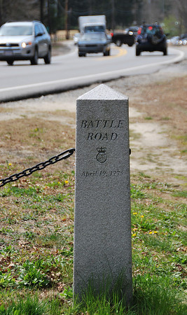 Battle Road Marker