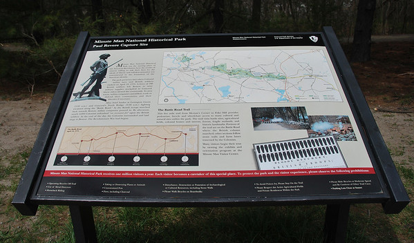 Paul Revere Capture Site at Minute Man NHP