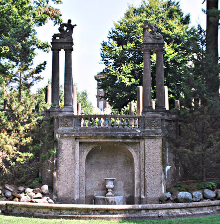 Former Fountain at the Formal Garden