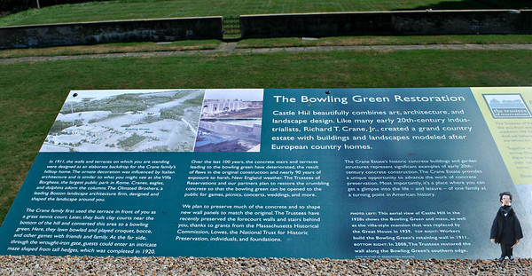 Restoration of the Bowling Green Plaque