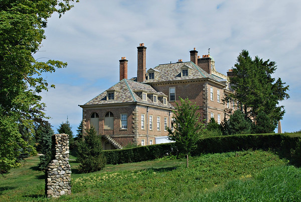 Side View of the Great House