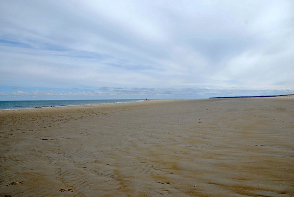 The sands of Crane Beach in Ipswich, Massachusetts
