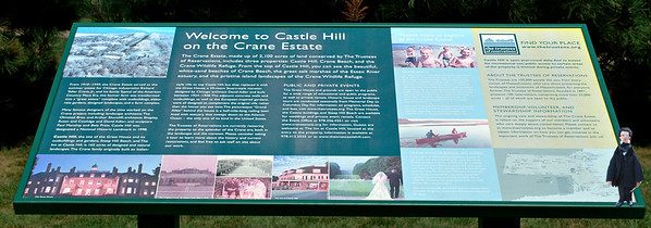 Welcome to Castle Hill Sign