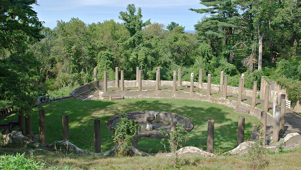 Garden of Pillars on Castle Hill at the Crane Estate