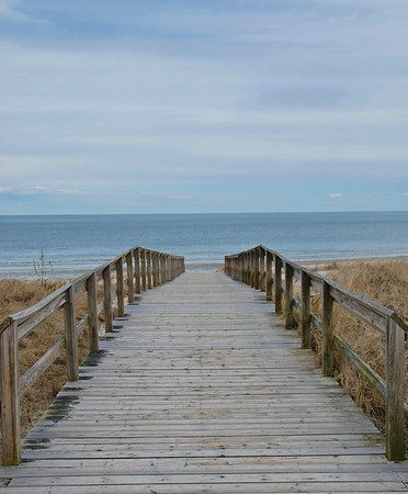 A Boardwalk at Crane Beach