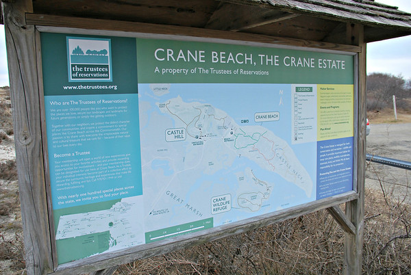 Information Sign for Crane Beach