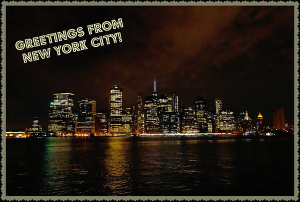 Greetings from new york city a postcard post m4hsunfo